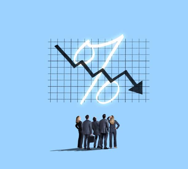 Negative Interest Rates stock photo