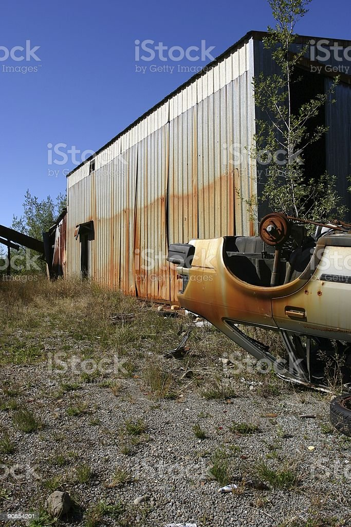 Neglect with a little bit of criminal activity. royalty-free stock photo