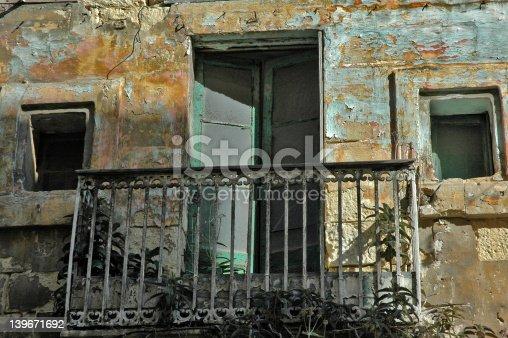 Another unloved balcony from Valetta, Malta.