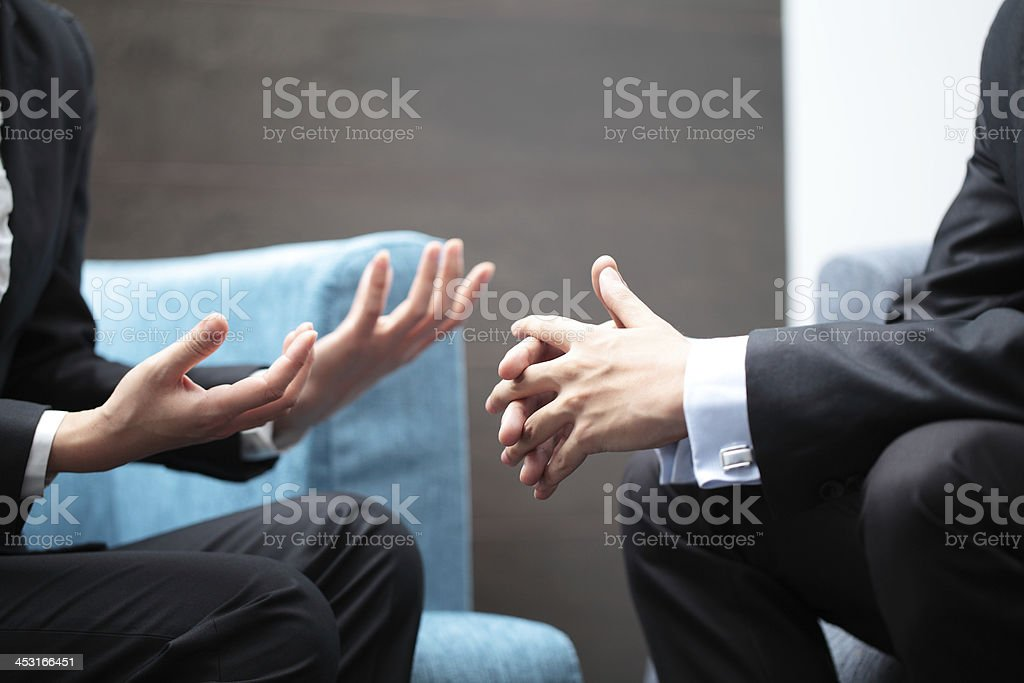 Negotiation stock photo