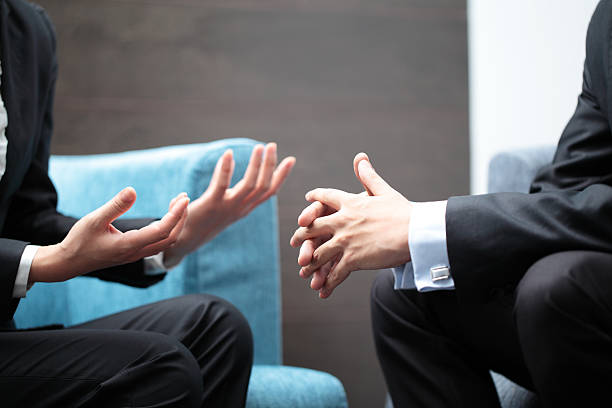 negotiation - gesturing stock pictures, royalty-free photos & images