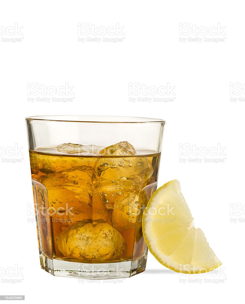 Negroni drink stock photo