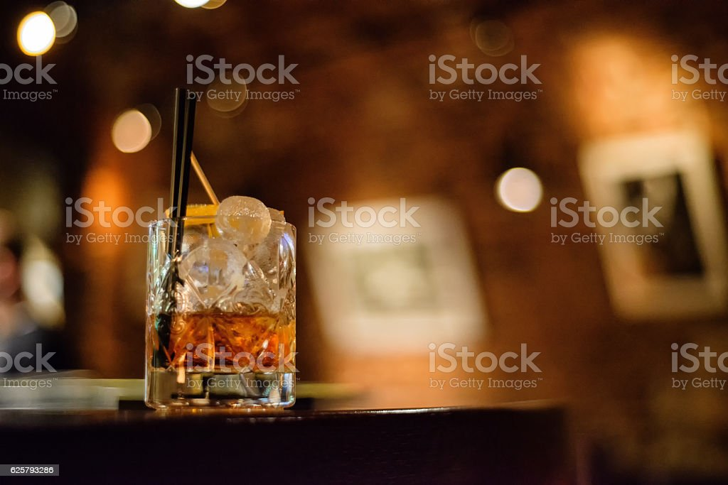 Negroni stock photo