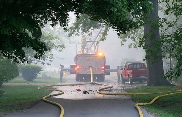 Neighborhood-Fire – Foto