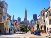 On 4th of July, tourists could visit the quiet neighborhood of telegraph Hill in San Francisco