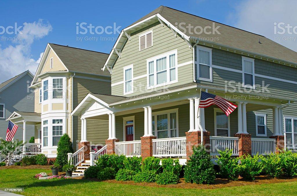 Neighborhood royalty-free stock photo