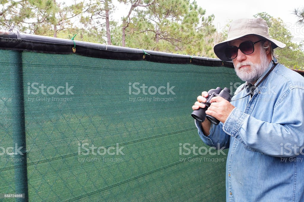 Neighborhood watch stock photo