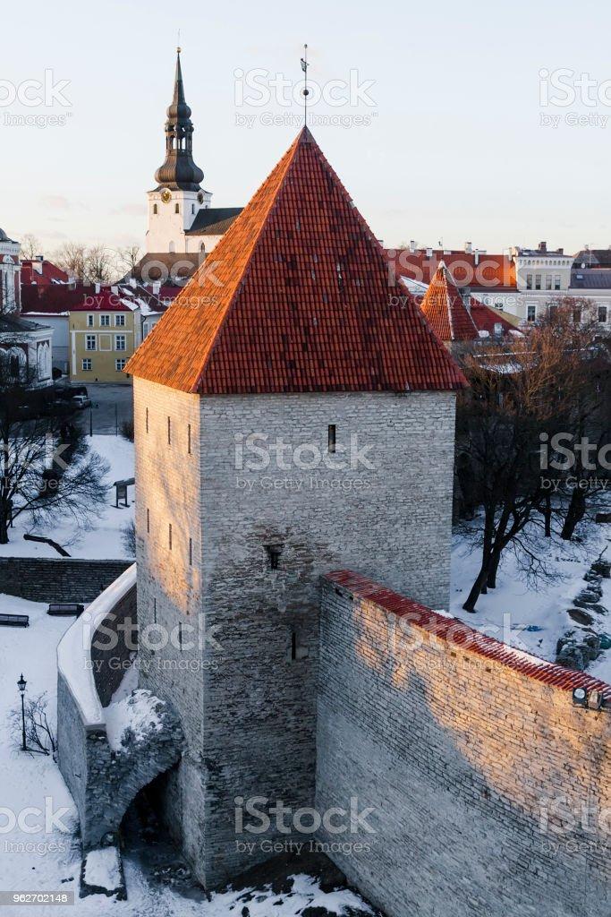Neitsi towerin stock photo