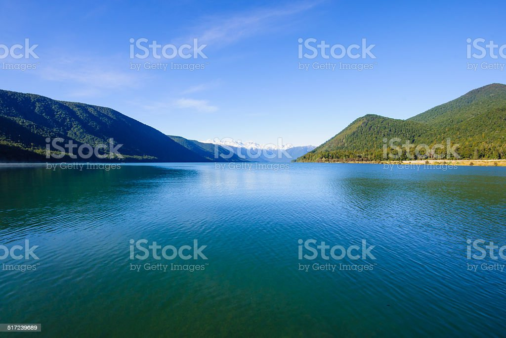 Nelson Lakes National Park stock photo