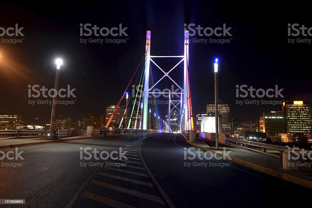 Nelson Mandela Bridge stock photo