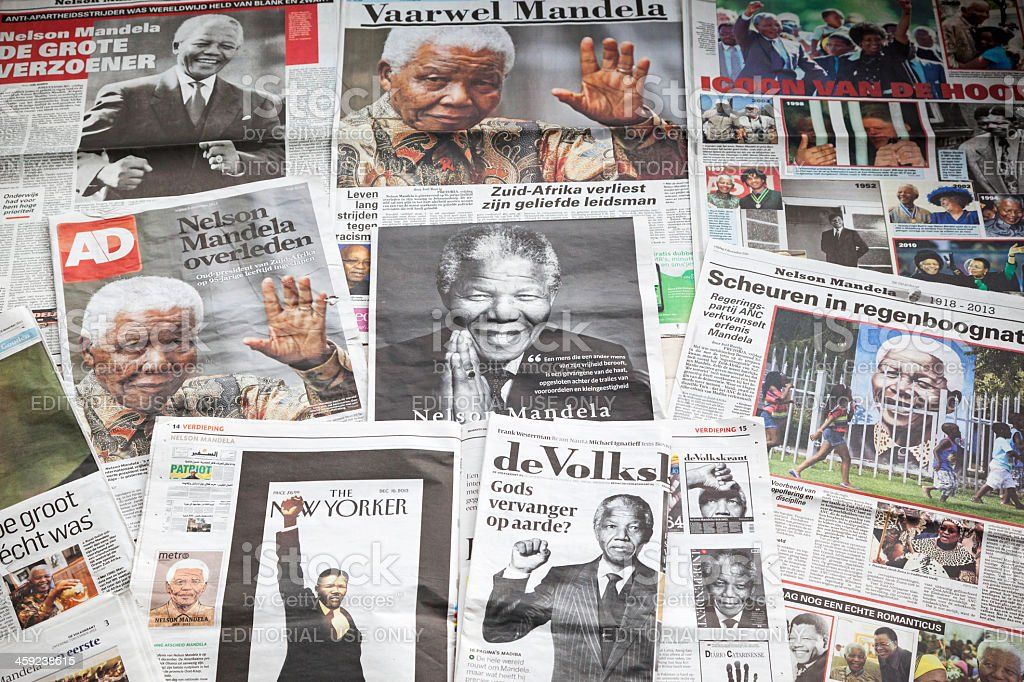 Nelson Mandela # 2 XXXL stock photo