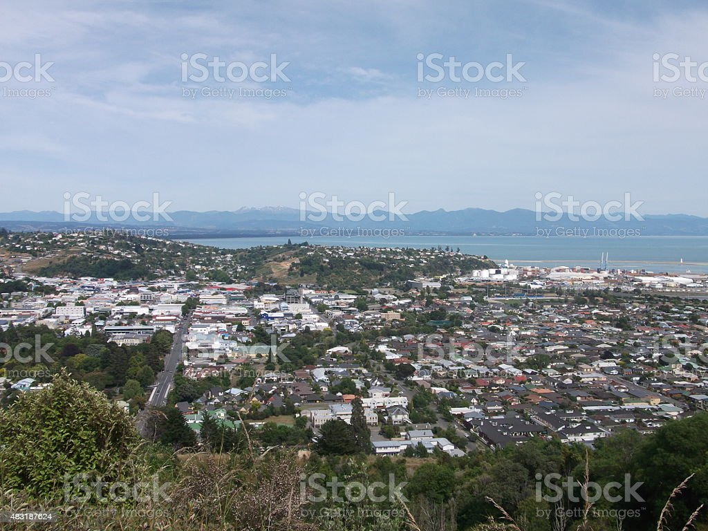 Nelson, New Zealand stock photo