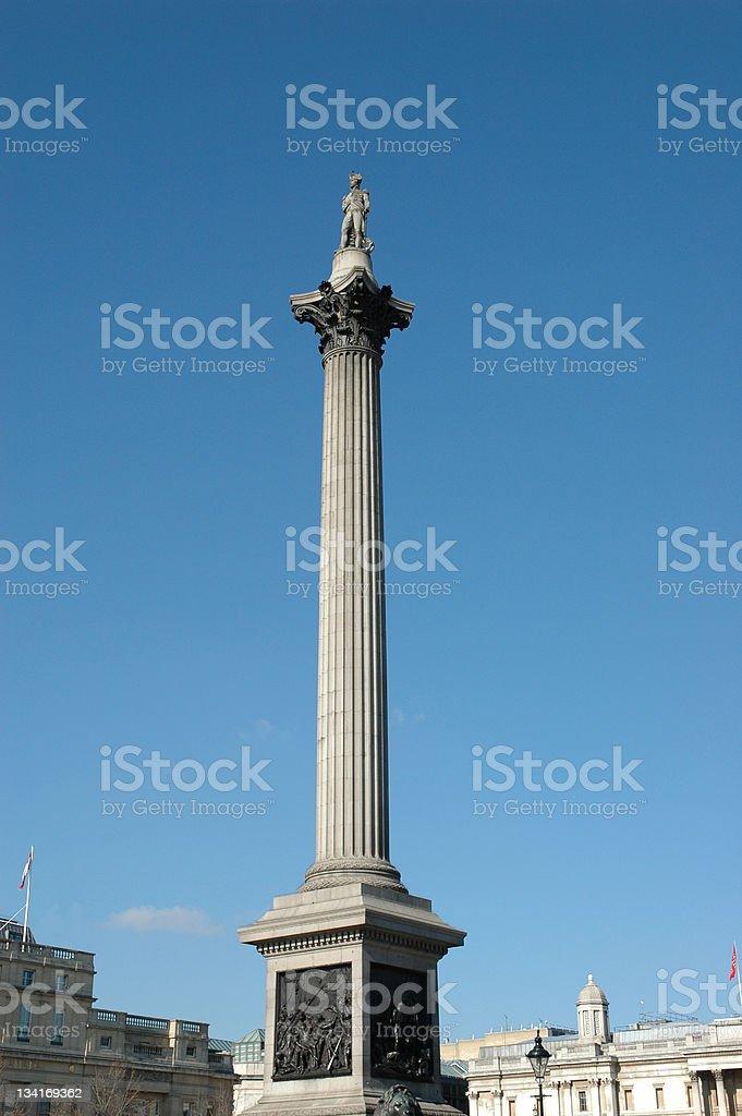 Nelson's Column royalty-free stock photo