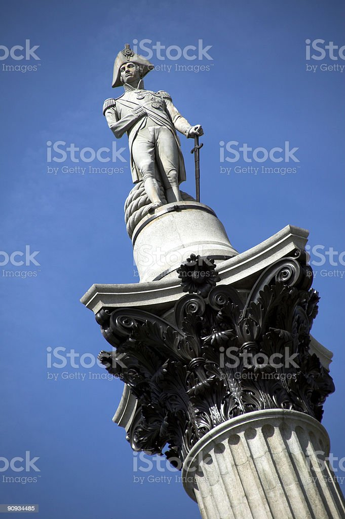 Nelson's Column royalty-free stock photo