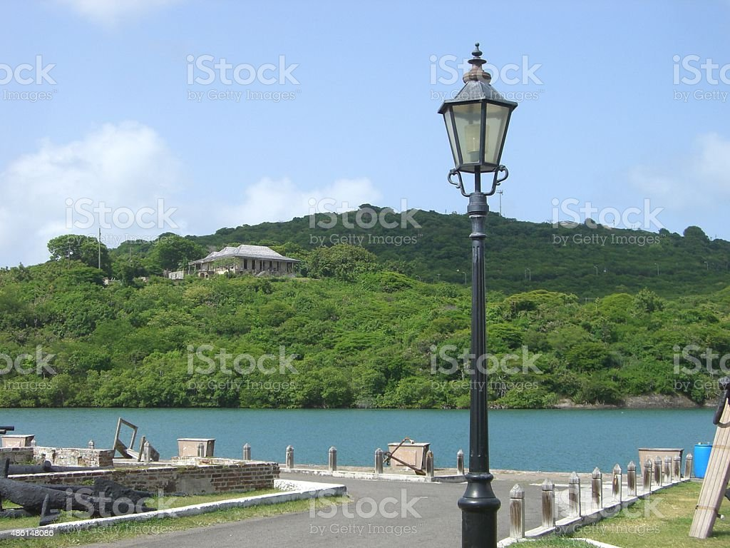 Nelson's Dockyard, Antigua stock photo
