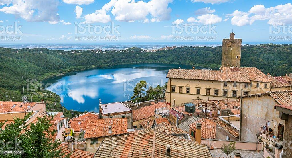Nemi, Rome Province, Lazio (Italy) stock photo