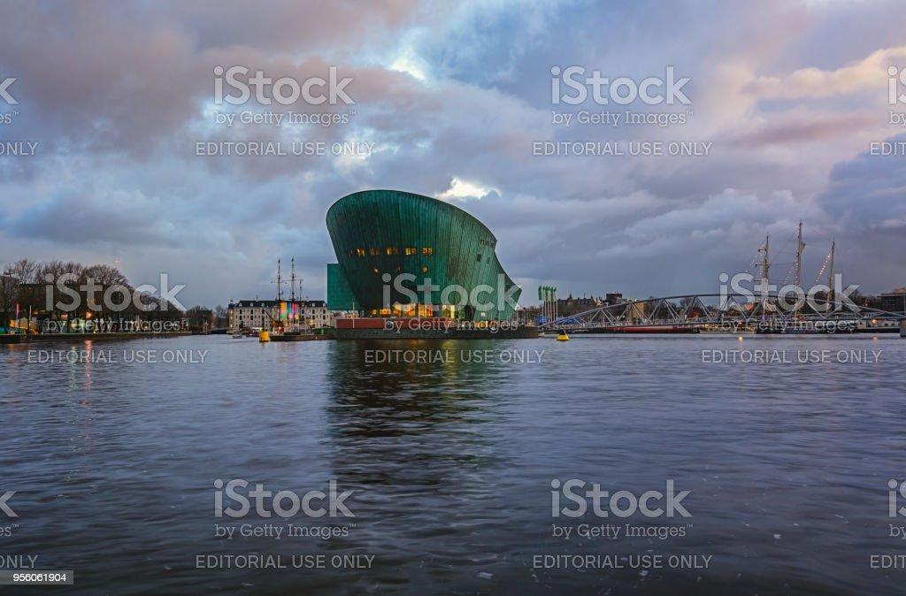 Musée des sciences Nemo à Amsterdam - Photo