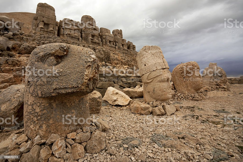 Nemrut royalty-free stock photo