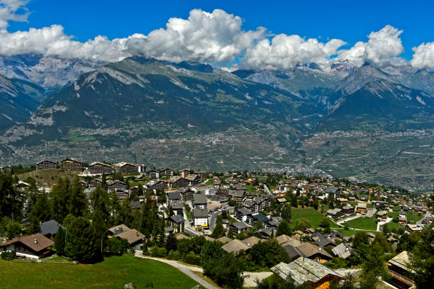 Nendaz, Wallis, Schweiz – Foto