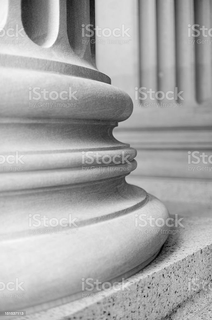 Neoclassical columns royalty-free stock photo