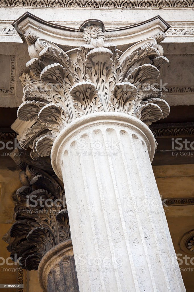 Neoclassical Columns stock photo