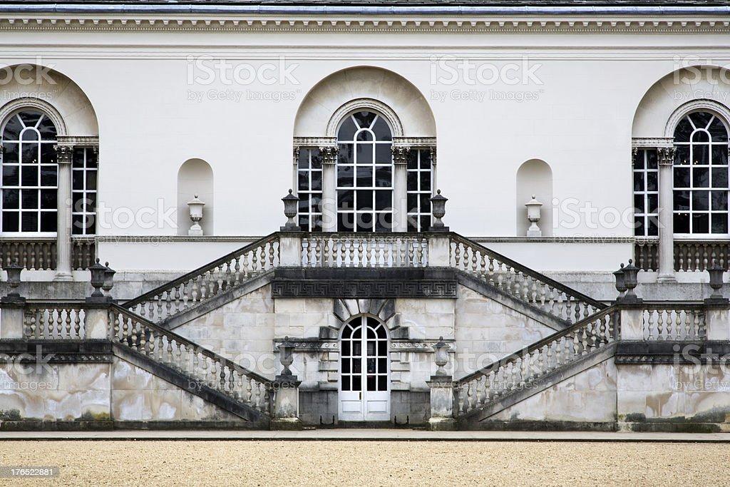 Neo-Classical Facade stock photo