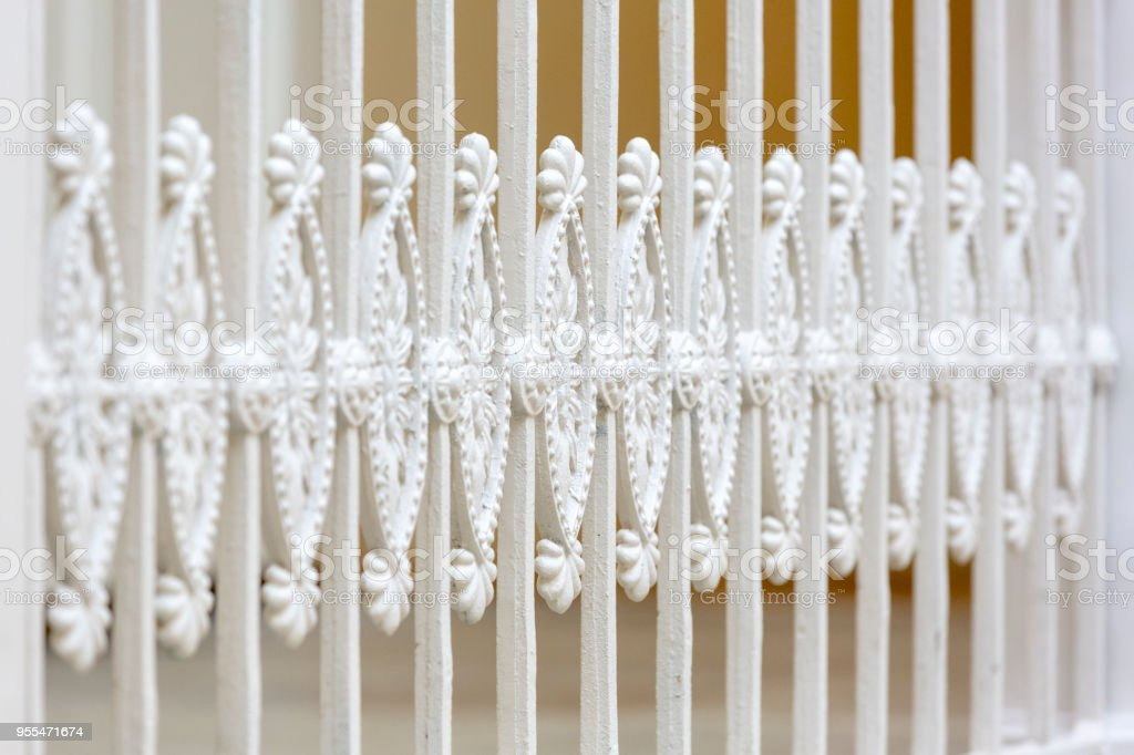 Neoclassical Period Stair Bannister Royalty Free Stock Photo