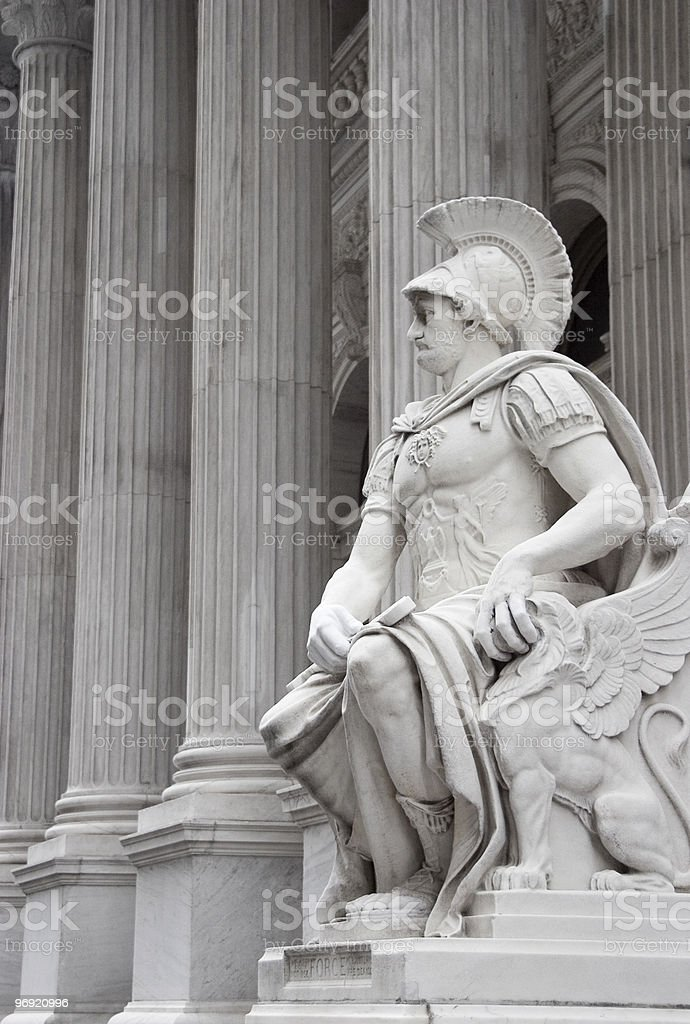 Neoclassical Statue royalty-free stock photo