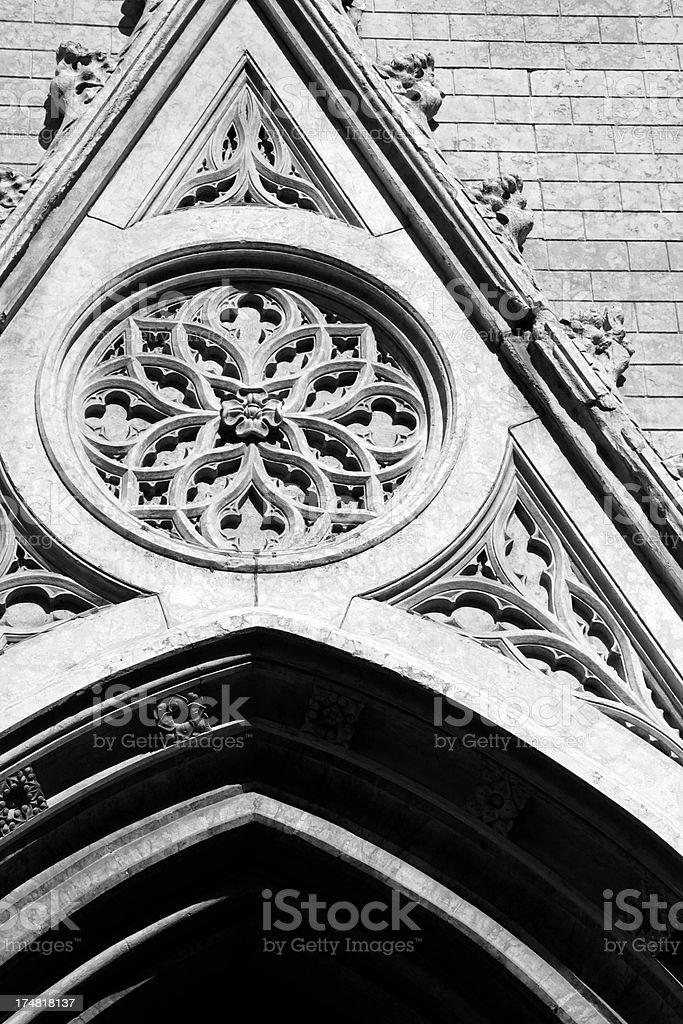 neo-Gothic royalty-free stock photo