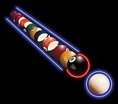 Neon Billiard
