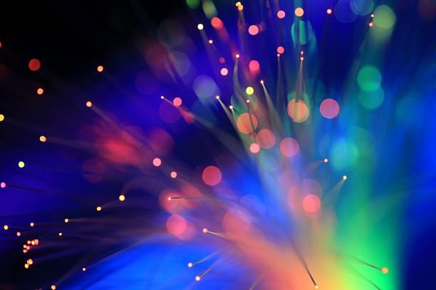 Neon Blacklights stock photo