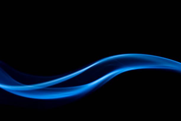 抽象的なブルー ストックフォト