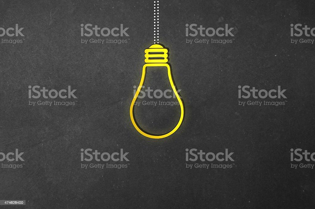 Neon Bulb stock photo