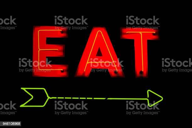 Neon eat restaurant sign picture id946108968?b=1&k=6&m=946108968&s=612x612&h=bdkaqc6ojeo2rvlzdgfryxkff3ffj4yx4wr9ih2ao7g=