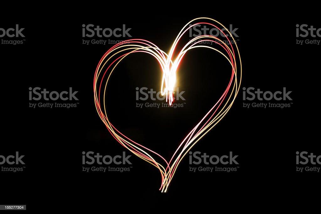 neon serca – zdjęcie