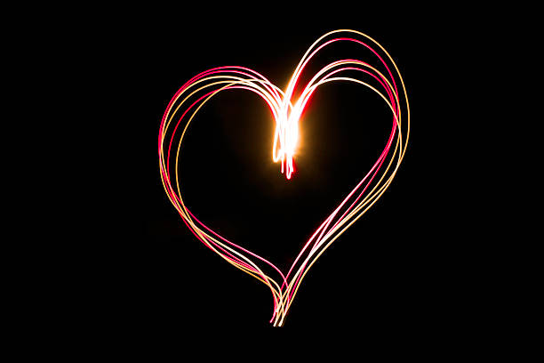 royalty free neon heart pictures images and stock photos istock