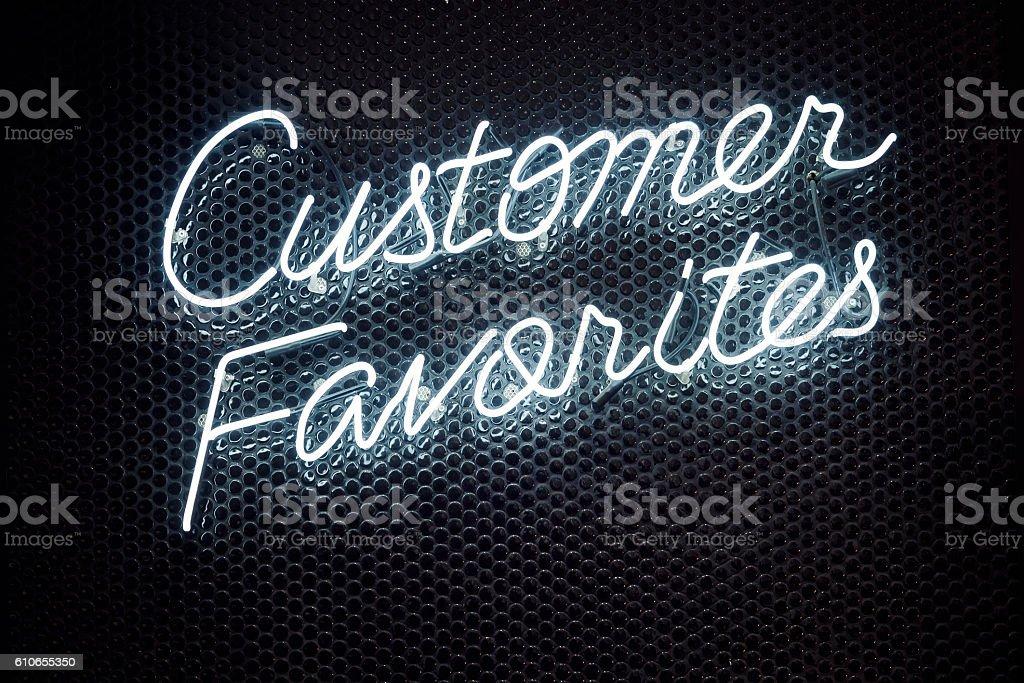 Neon Lettering font Signage Light type Retail shop Business stock photo