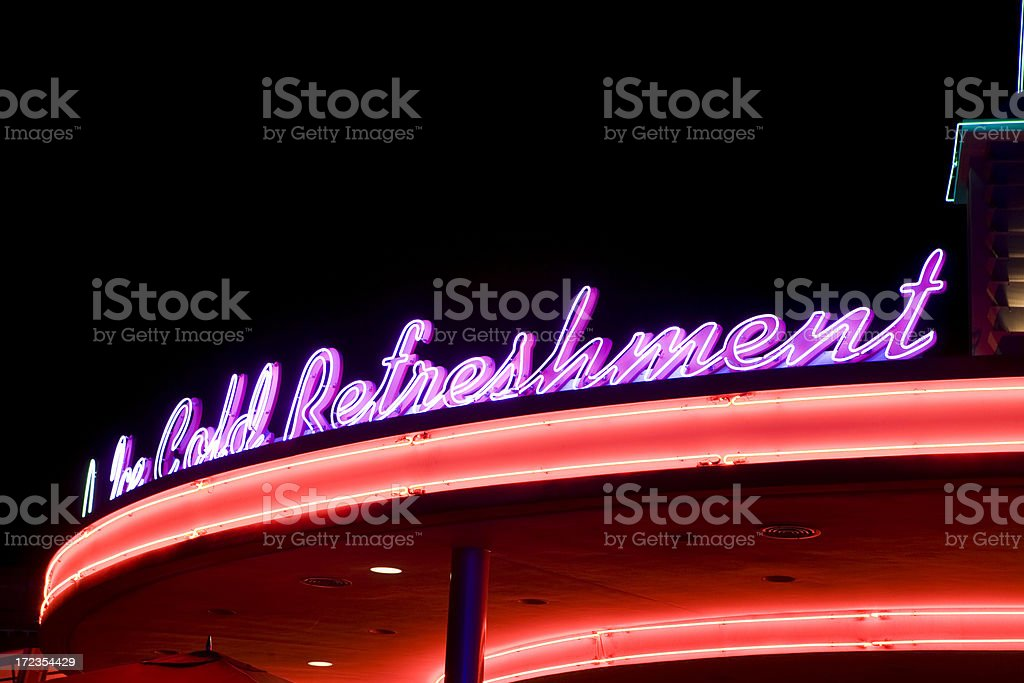 Neon Light royalty-free stock photo