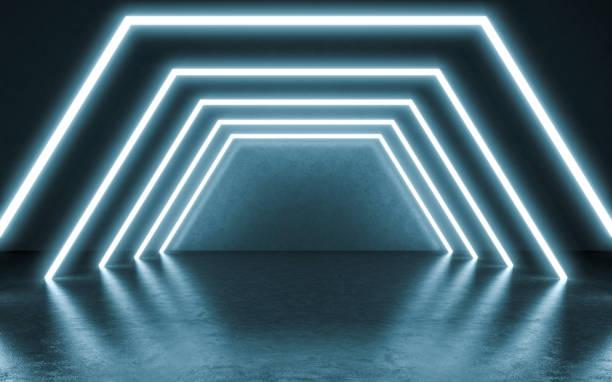 Fond de néons. - Photo