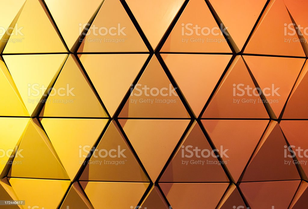 Neon lights on the wall royalty-free stock photo