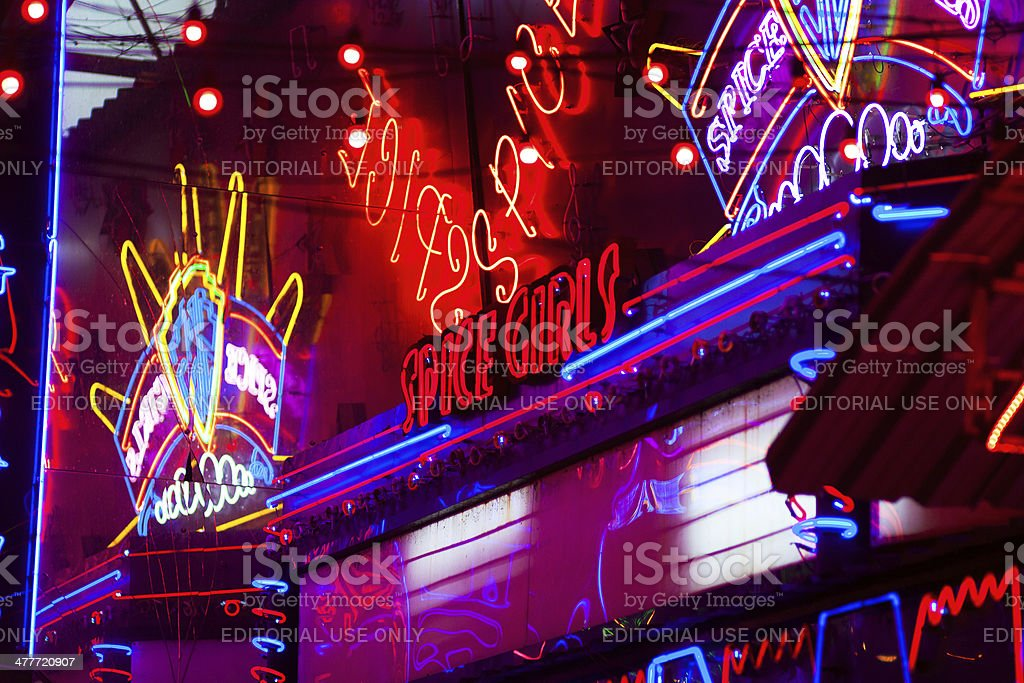 Neon Lights Stock Photo - Download Image Now - iStock