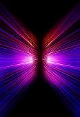 istock neon motion blur zoom background 836598382