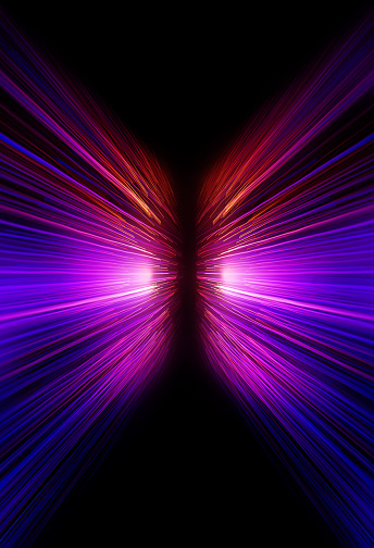 Neon Motion Blur Zoom Background Stock Photo - Download ...