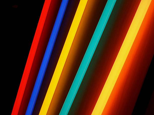 neon Regenbogen Lichter – Foto