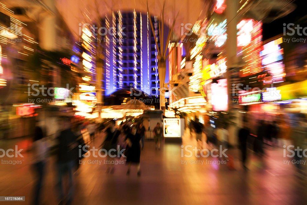 Neon Rush royalty-free stock photo