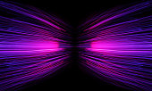 istock neon streaming zoom tunnel 835453422