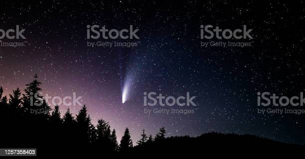 Photo of C/2020 F3 Neowise comet