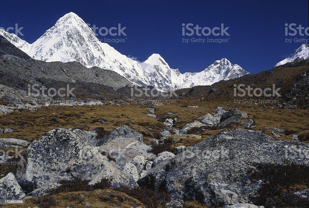 Nepal. Himalaya. Khumbu Valley. stock photo