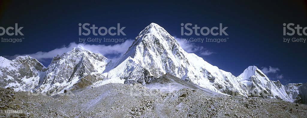 Nepal, Himalaya royalty-free stock photo