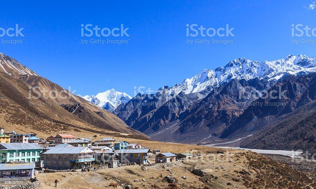 Nepal Himalaya stock photo